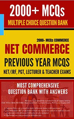 NET JRF Commerce Question Bank 2000+ MCQs