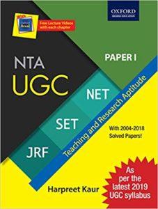 ugc net first paper