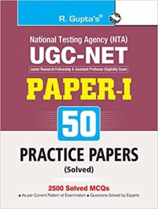 ugc net paper 1 practice papers 50