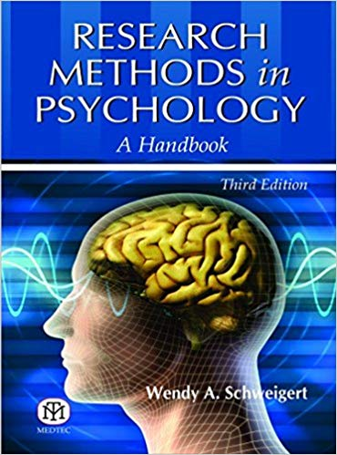 Research Methods in Psychology - A Handbook