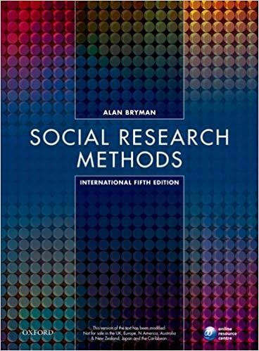 SOCIAL RESEARCH METHODS 5E XE
