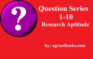 ugc net question series