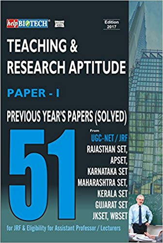 ugc net Teaching & Research Aptitude [Paper I]