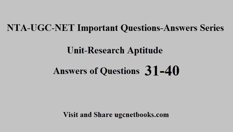 ugc net questions
