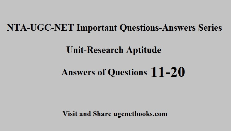 ugc net questions