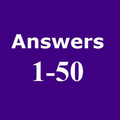 UGC NET ANSWERS