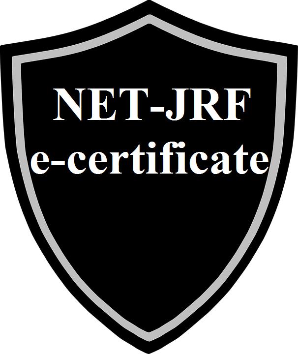 CERTIFICATE UGC NET