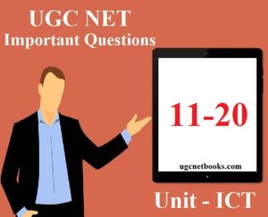 ugc net important questions