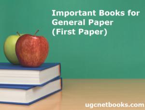 important books ugc net