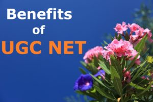 benefits of ugc net