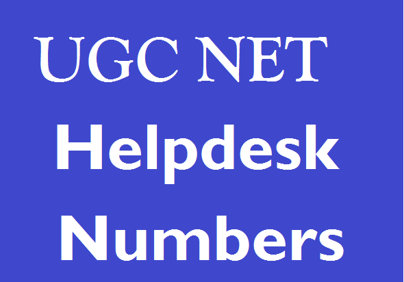 ugc net helpdesk numbers
