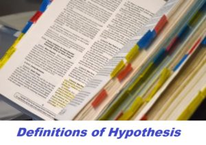 definitions of hypothesis