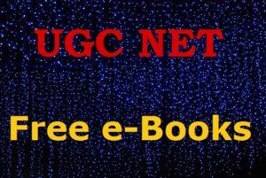 ugc net free books