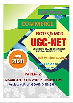 UGC NET COMMERCE BOOKS