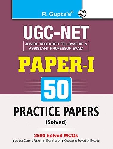 ugc net practice books