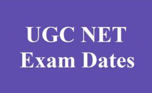 ugc net exam dates