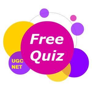 UGC NET FREE QUIZ