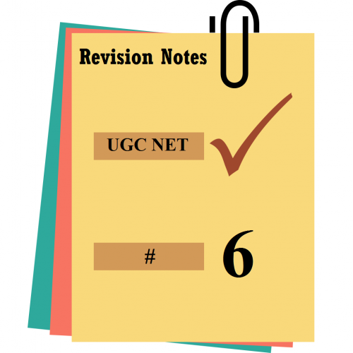 ugc net revision notes