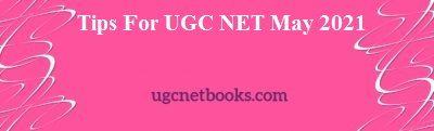 ugc net may 2021