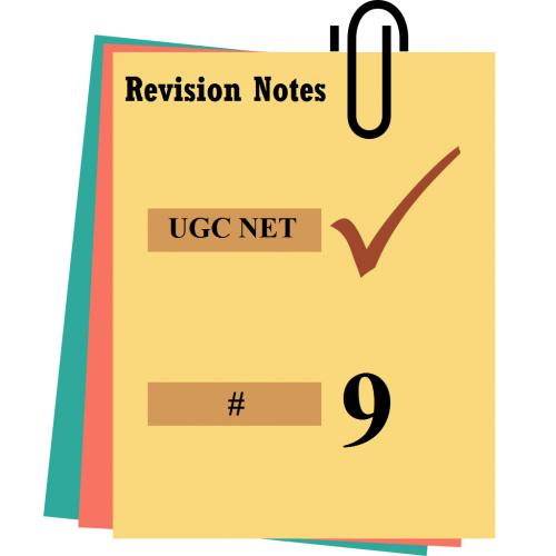 ugc net notes