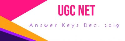 ugc net answer keys