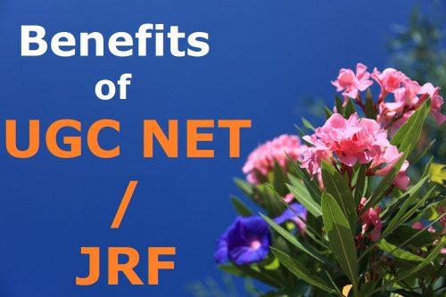 benefits of ugc net