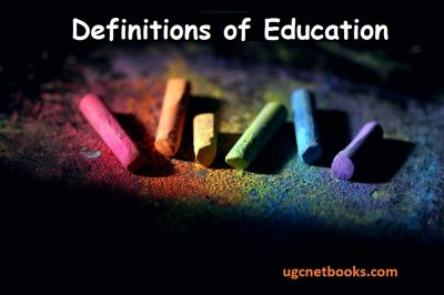 definitions of education