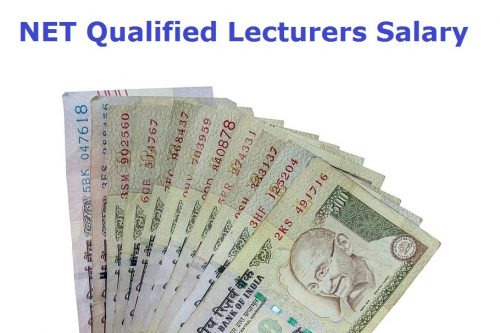 NET Qualified Lecturers Salary
